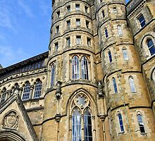 Old College, Aberystwyth University by buttonpresser