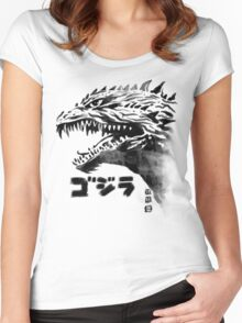 Portrait of the Monster Women's Fitted Scoop T-Shirt