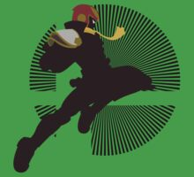 Captain Falcon (Smash 4, Knee of Justice) - Sunset Shores Kids Clothes