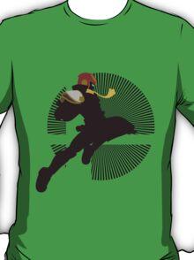 Captain Falcon (Smash 4, Knee of Justice) - Sunset Shores T-Shirt