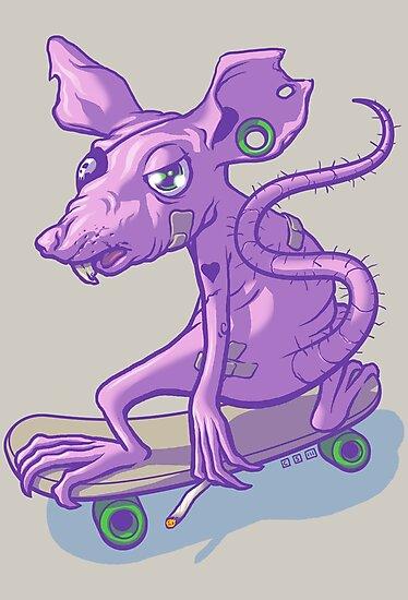 Rat Bastard by cs3ink