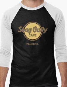 Skag Gully Cafe (undistressed) Men's Baseball ¾ T-Shirt