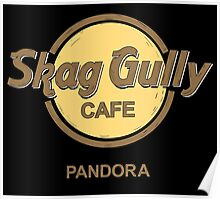 Skag Gully Cafe (undistressed) Poster