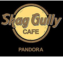 Skag Gully Cafe (undistressed) Photographic Print