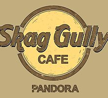 Skag Gully Cafe (distressed) by spazzynewton