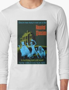 Haunted Mansion Long Sleeve T-Shirt