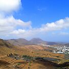 The Valley Of Ten Thousand Palms................Lanzarote by Fara