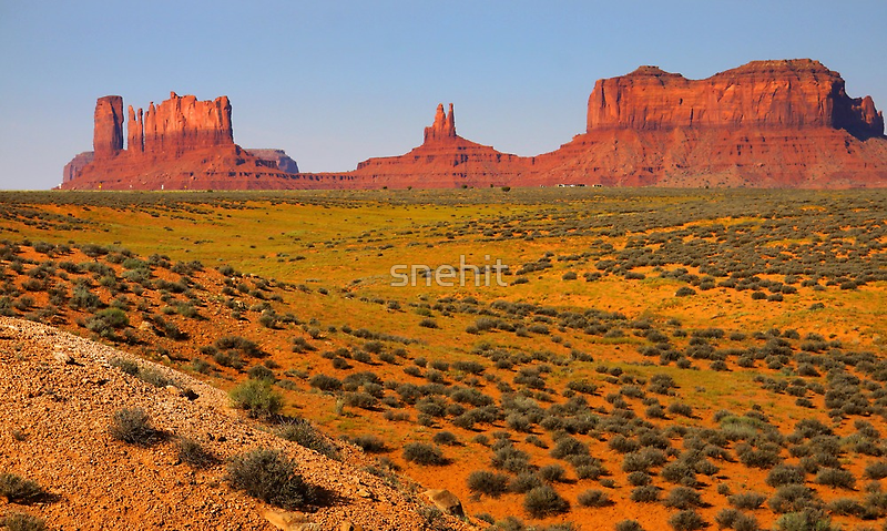 Monument Valley by snehit