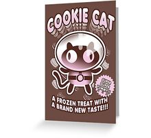 Cookie Cat Parody Greeting Card
