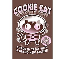 Cookie Cat Parody Photographic Print