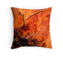 Hot Shot!! Throw Pillow
