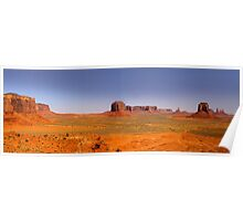 Desert landscape in the Arizona Poster