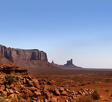 Desert landscape in the Arizona by snehit