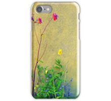 Sunlit Wall Flowers...........................Most Products iPhone Case/Skin