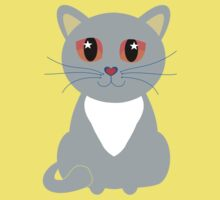 Only One Gray Cat Baby Tee