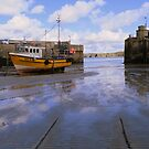 Cornwall: Low Tide at Newquay Harbour by Rob Parsons