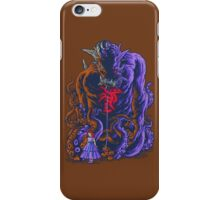 Demon and Child iPhone Case/Skin