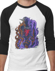 Demon and Child Men's Baseball ¾ T-Shirt