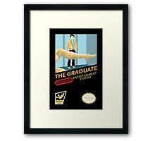 NES presents The Graduate Framed Print