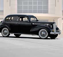 1940 Packard Super 8 Sedan 'Profile' by DaveKoontz