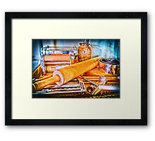 Pasta Tools Framed Print