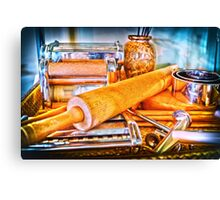 Pasta Tools Canvas Print