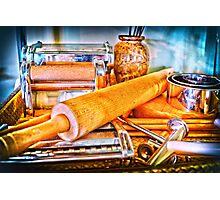 Pasta Tools Photographic Print