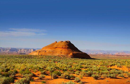 Desert landscape by snehit