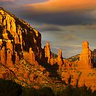 Red rock hills in Sedona by snehit