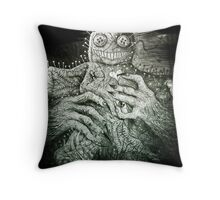 Mr. Creepy Throw Pillow