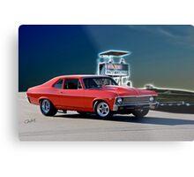 1968 Chevrolet Nova 'Pro Street' Metal Print