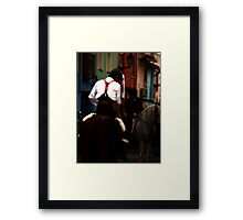 Taste of Spain Framed Print