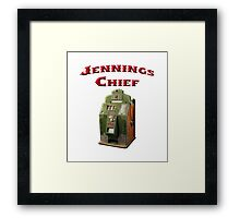 Jennings Chief Framed Print