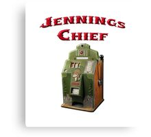 Jennings Chief Canvas Print