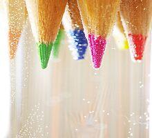 coloured pencils by Thomas Petaut