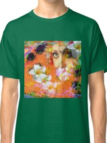 """ The queen of flowers "" Classic T-Shirt"