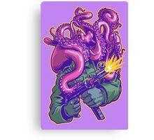 Octo-Nazi! Canvas Print