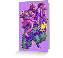 Octo-Nazi! Greeting Card