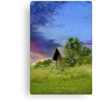 Tourist Cabin Canvas Print