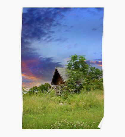 Tourist Cabin Poster