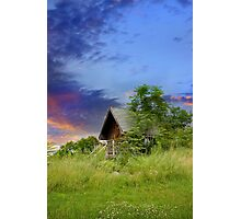 Tourist Cabin Photographic Print