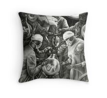 Gestation Throw Pillow