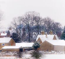 Village in Snow by CJTill