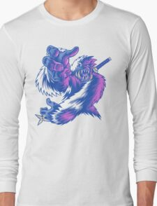 Just the Ninja Yeti Long Sleeve T-Shirt