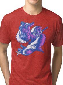 Just the Ninja Yeti Tri-blend T-Shirt