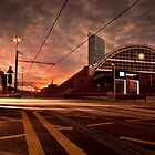 Manchester Sunset. by ASBO-Allstar