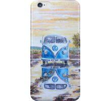 Volkswagen camper / After the rain. iPhone Case/Skin