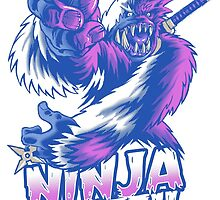 Ninja Yeti by cs3ink