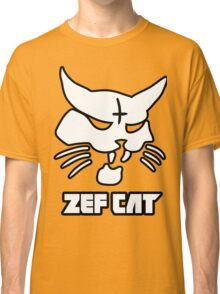 Zefcat (white) Classic T-Shirt