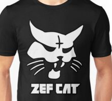 Zefcat (white) Unisex T-Shirt